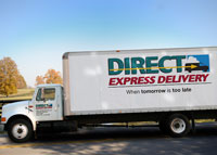 Direct Express Delivery Straight Truck