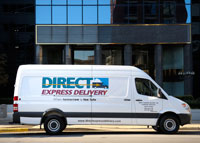 Direct Express Delivery Cargo Van